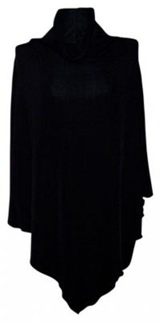 Preload https://item1.tradesy.com/images/chico-s-black-travelers-cowl-neck-poncho-night-out-top-size-os-one-size-17230-0-0.jpg?width=400&height=650