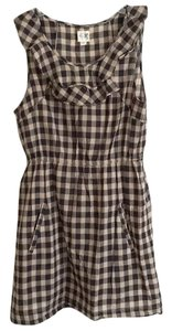 Anthropologie short dress Plaid Checkered Pockets on Tradesy