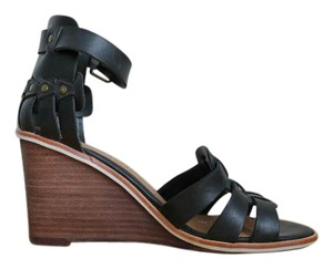 DV by Dolce Vita Studded Leather Black Wedges