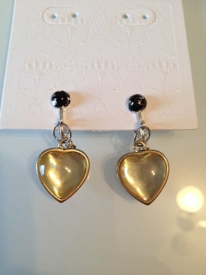 Other Pink bubbly heart earrings