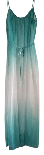 Preload https://img-static.tradesy.com/item/17230162/coveted-clothing-teal-long-casual-maxi-dress-size-8-m-0-1-650-650.jpg