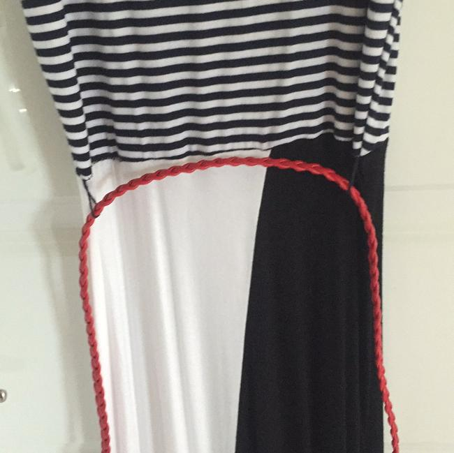 Black and white Maxi Dress by Sevengate
