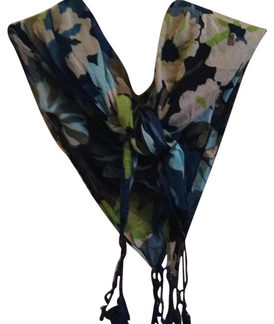 Item - Blue and Green Multi Scarf/Wrap