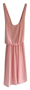 Coveted Clothing short dress Light pink on Tradesy