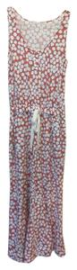 Diane von Furstenberg Relaxed Fit Drawstring Waist Print Pants Dress