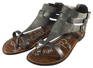 Sam Edelman Gunmetal Grey Sandals