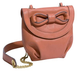 See by Chloé Mini Front Flap Leather Bow Cross Body Bag