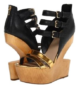 Dolce Vita Gold/Black Sandals