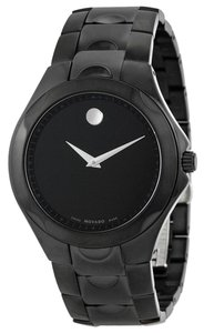 Movado Black PVD Stainless Steel Designer MENS Casual Sport Watch