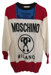 Moschino short dress Multi Sweater Fashion on Tradesy