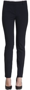 Theory Ankle Wool Light Business Skinny Pants Black