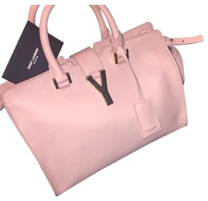Saint Laurent Satchel in Blush