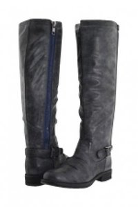 Madden Girl Brushed Gray Boots