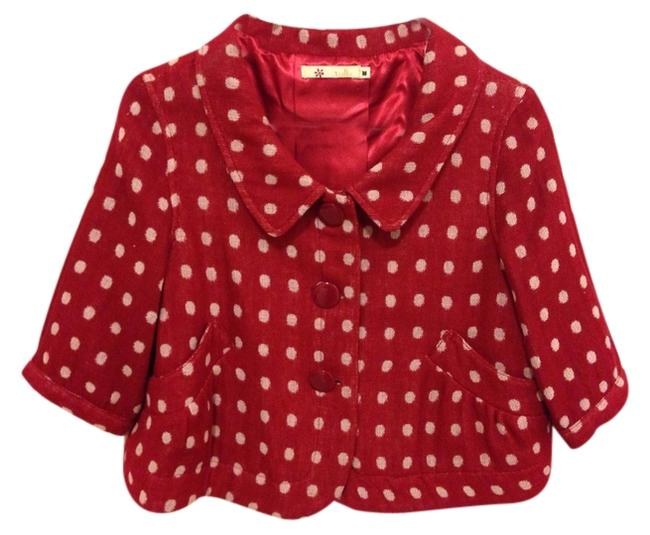Preload https://item4.tradesy.com/images/tulle-red-ponchocape-size-8-m-1723233-0-0.jpg?width=400&height=650