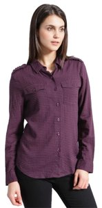 brooklyn industries Button Down Shirt amethyst/purple/lilac