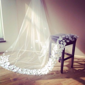 Handmade Wedding Veil