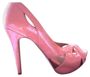 Bakers Platforms Pink Funky Blush Pumps