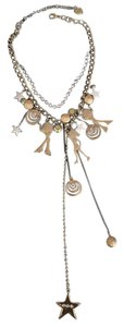 Betsey Johnson Betsey Johnson Vintage Disco Girl Necklace