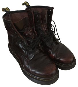 Dr. Martens Rare Ruby Red Boots