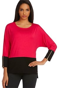 Calvin Klein Top Pink / Black