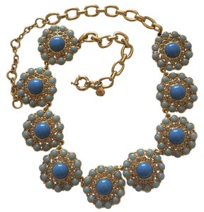 J.Crew Crystal Circle Necklace