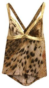 Roberto Cavalli Going Tank Gucci Top Gold