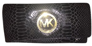 Michael Kors Snake Embossed Leather Wallet