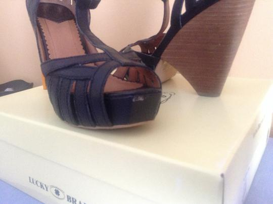 Lucky Brand Spring Summer Black Sandals
