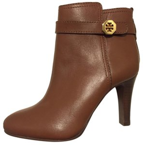 Tory Burch Leather Bootie Brown Boots