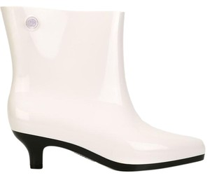 Melissa Eco-friendly Recycled White, Black Boots