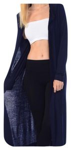 Other Boho Comfy Duster Seamless Hooded Cardigan