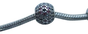 PANDORA Authentic Pandora Sterling Silver Shimmering Blossom 791129cz