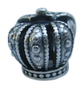 PANDORA Authentic Pandora Sterling Silver Royal Crown Bead 790930 new