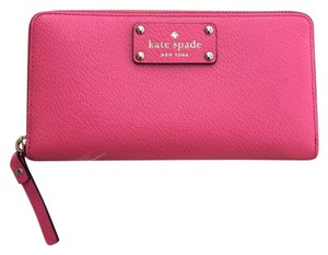 Kate Spade Neda Wellesley Zip Arround Pink Cabarett