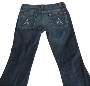 7 For All Mankind Dark Boot Cut Jeans