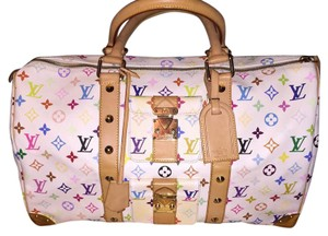 Louis Vuitton Blanc Travel Bag