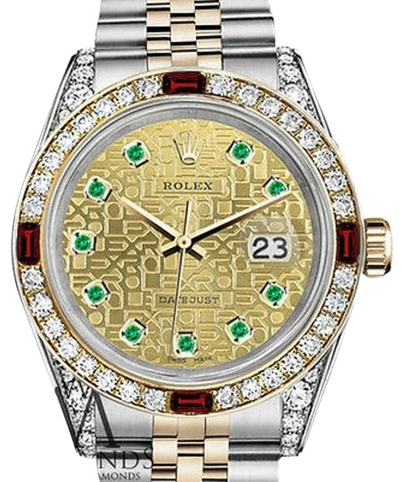 Preload https://img-static.tradesy.com/item/17234815/rolex-steel-and-gold-36mm-datejust-two-tone-dial-ruby-and-diamond-watch-0-1-540-540.jpg