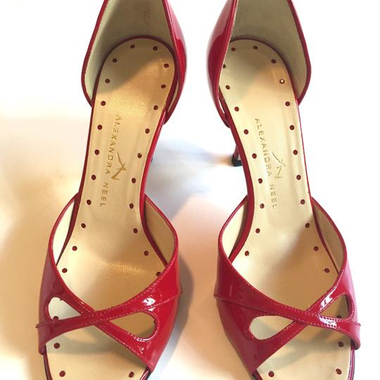 Alexandra Neel Red Patent Leather Formal Image 1