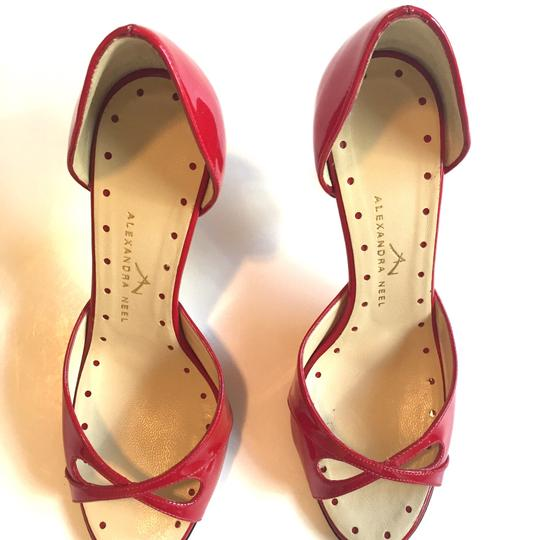 Alexandra Neel Red Patent Leather Formal Image 8