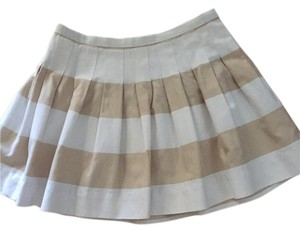 Gap Mini Skirt Cream