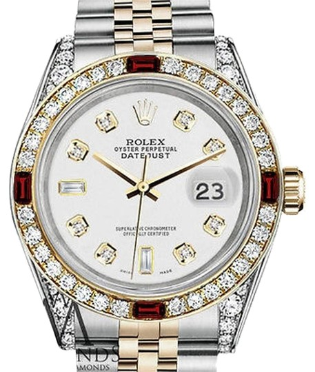 Preload https://img-static.tradesy.com/item/17235112/rolex-ladies-ssteel-and-gold-26mm-white-82-dial-ruby-and-diamond-watch-0-1-540-540.jpg