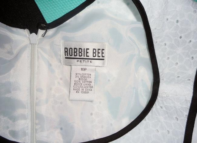 Robbie Bee Eyelet Belted Cotton Party Dress Image 5