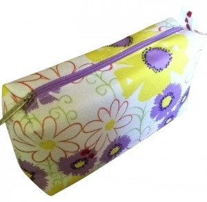 Clinique Floral Ladybug Cosmetic Bag