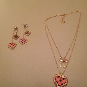 Betsey Johnson Betsey Johnson Necklace and Earrings