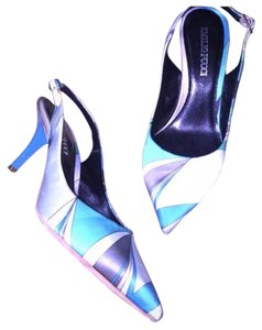 Emilio Pucci Blue Green Pumps