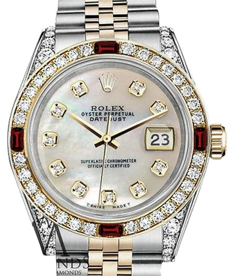 Preload https://img-static.tradesy.com/item/17235475/rolex-ladies-steel-and-gold-26mm-datejust-white-mop-dial-ruby-diamond-watch-0-1-540-540.jpg