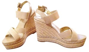Charles David Espadrille Platform Wedge tan/natural Wedges