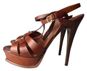 Saint Laurent ginger brown Sandals