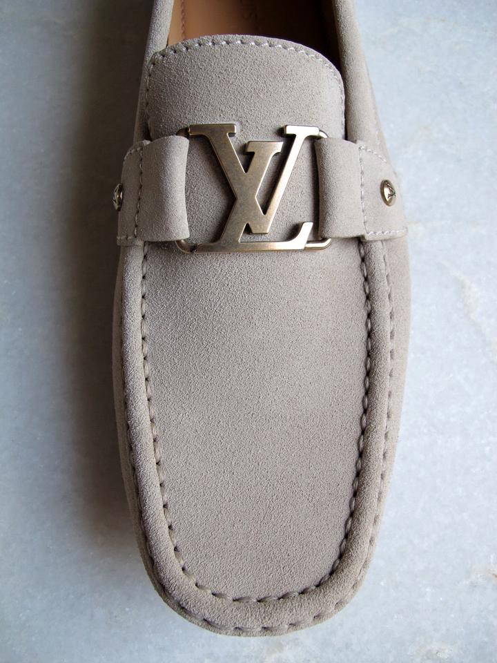 e5d1756d1bd4 Louis Vuitton Men s Monte Carlo Car Slip On Moccassin Suede Loafer Flats  Size US 9.5 - Tradesy