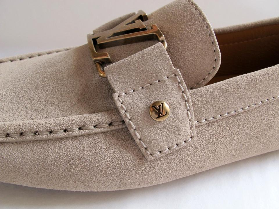 bfd7f6e2369c Louis Vuitton Men s Monte Carlo Car Slip On Moccassin Suede Loafer ...